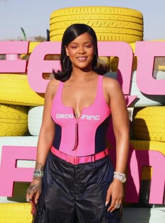 Rihanna takes over Coachella with FENTYxPUMA April 14, 2018