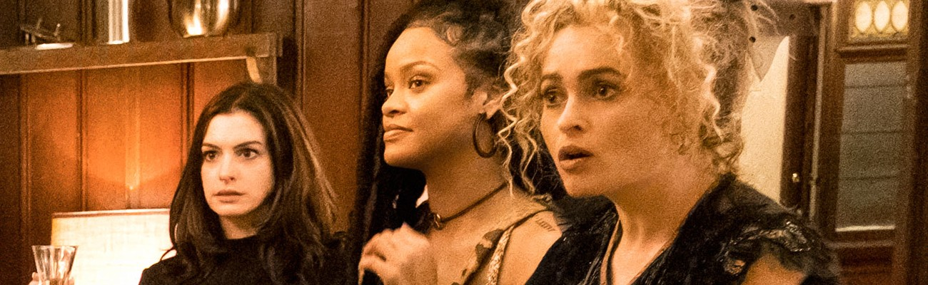 Ocean's 8: the gang in heist-planning mode
