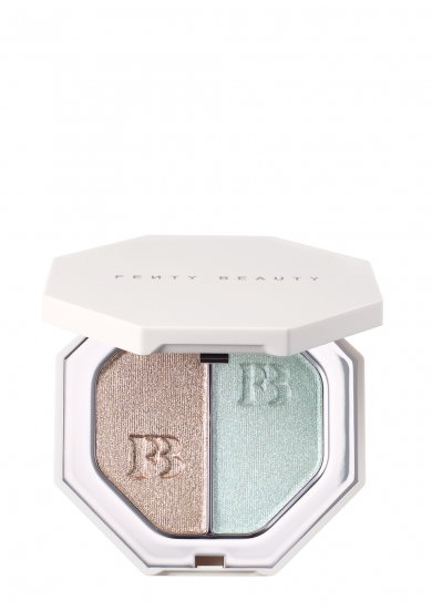 Fenty Beauty Killawatt Foil Freestyle Highlighter Duo Sand Castle/Mint'd Mojito