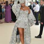 Rihanna attends 2018 Met Gala in New York on May 7, 2018 Fashion