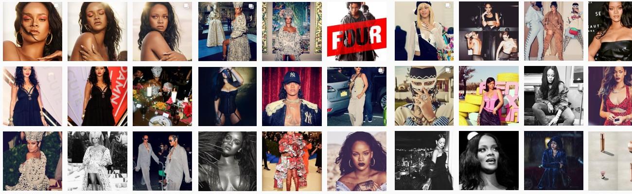 Rihanna Online Instagram - Follow @fentyonline Instagram