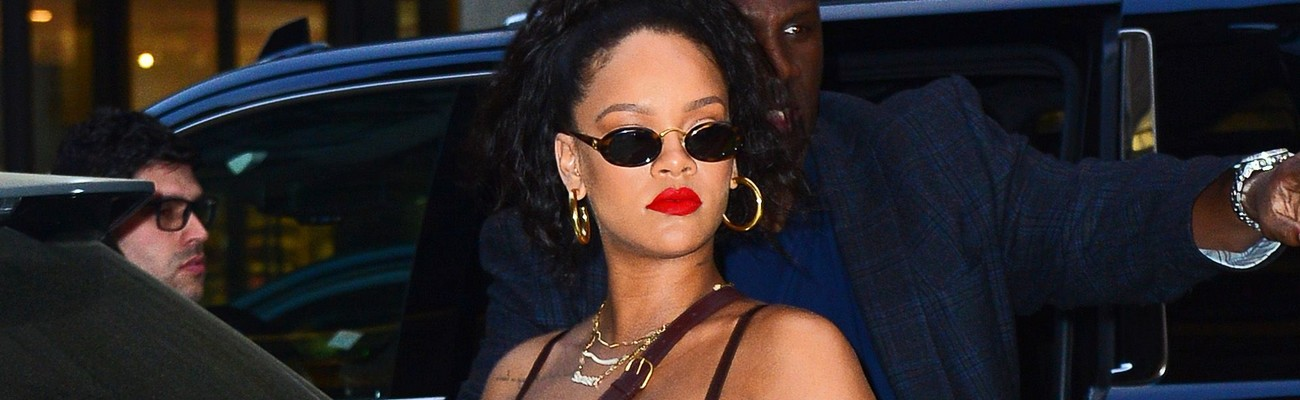 Rihanna spotted out and about in NYC on May 4th, 2018