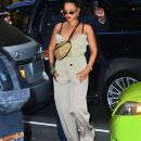 Rihanna spotted out and about in NYC on May 4, 2018