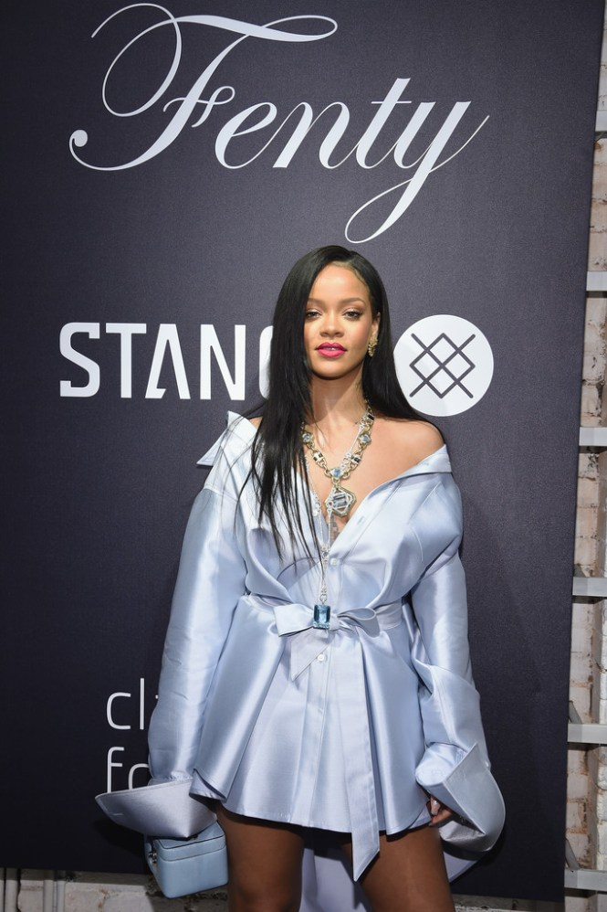 Rihanna at Clara Lionel Foundation benefit in New York on June 6, 2018 pictures