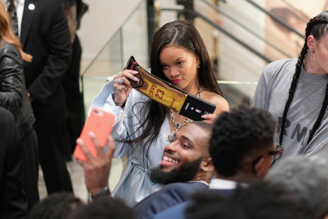 Rihanna at Clara Lionel Foundation benefit in New York on June 6, 2018 events