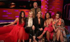 Rihanna and Ocean's 8 take over The Graham Norton Show on June 14, 2018 Sandra Bullock