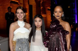 Rihanna attends Ocean's 8 premiere after party on June 5 in New York Anne Hathaway, Awkwafina