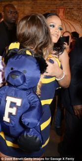 Rihanna visits Savage x Fenty pop up shop in London on June 15, 2018 Sunglasses