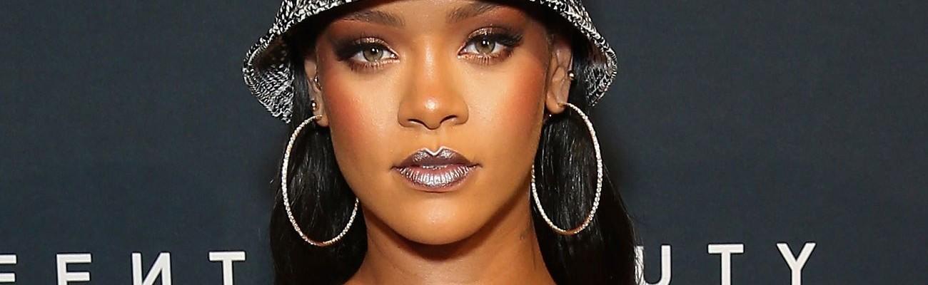 Rihanna promotes Fenty Beauty in Australia