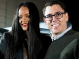Rihanna attends Rivian event in Los Angeles
