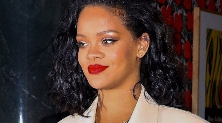 Rihanna steps out in New York