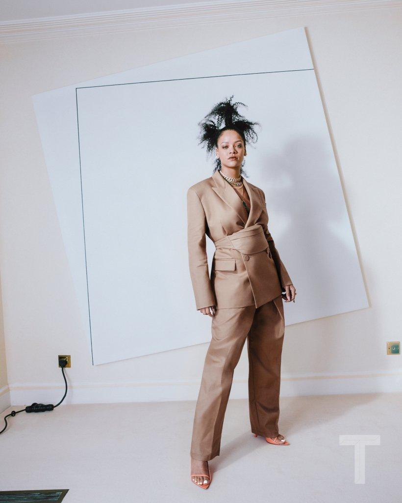Rihanna previews FENTY Maison for T Magazine