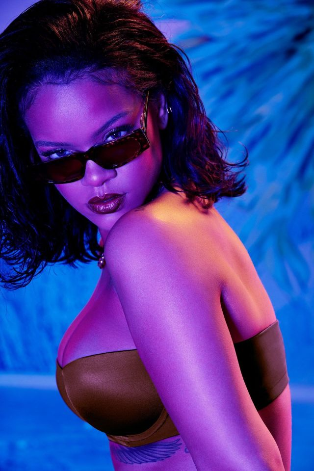 Rihanna for Savage X Fenty strapless bra
