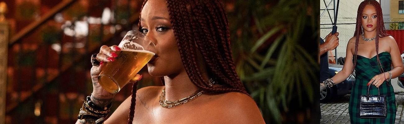 Rihanna day drinks with Seth Meyers