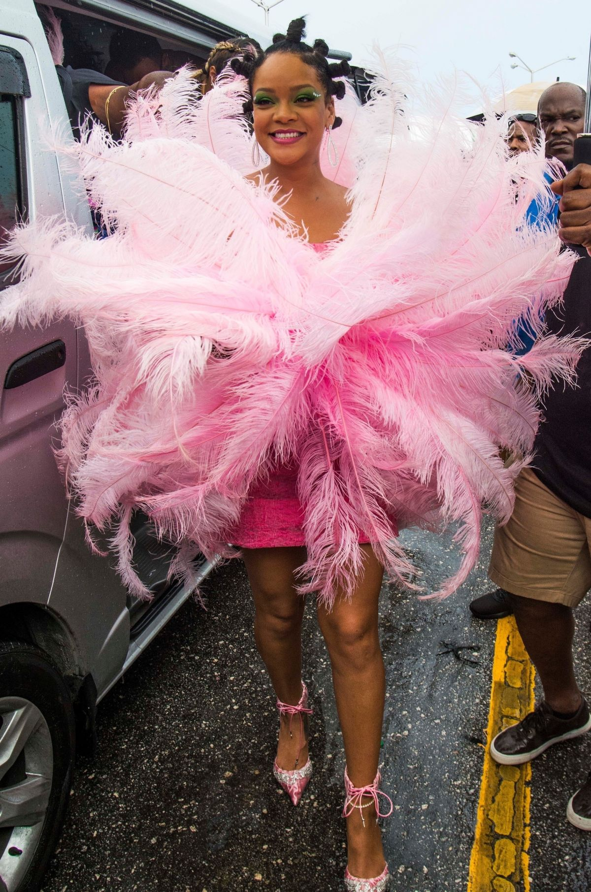 Rihanna back in Barbados for Crop Over festival