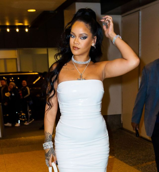 Rihanna attends the Porcelein Ball in New York