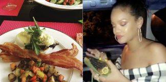 Rihanna - Pratos de Comida