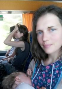 kui tahad silmatera bussis diskreetselt imetada