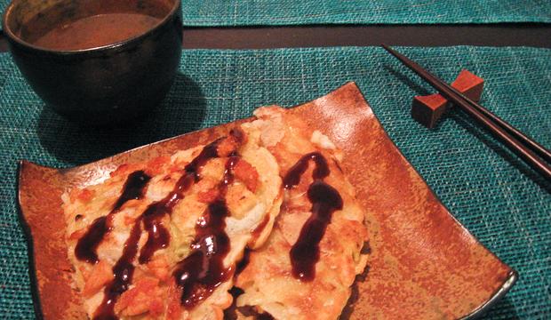 Okonomiyaki Kansain tapaan