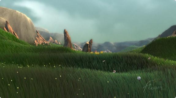 Flower – peli visualisteille ja fiilistelijöille