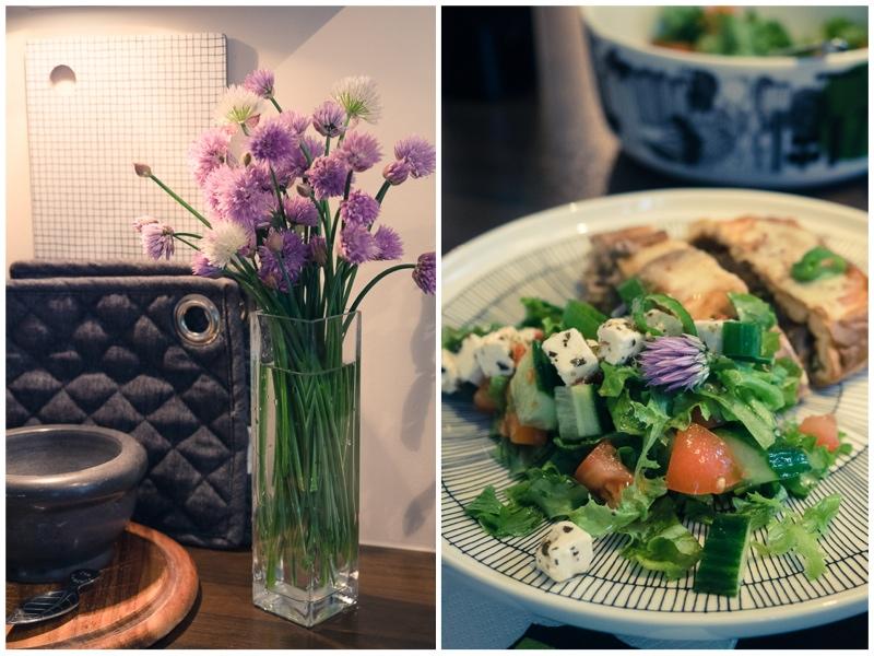 ruohosipuli-salaatti-kimppu