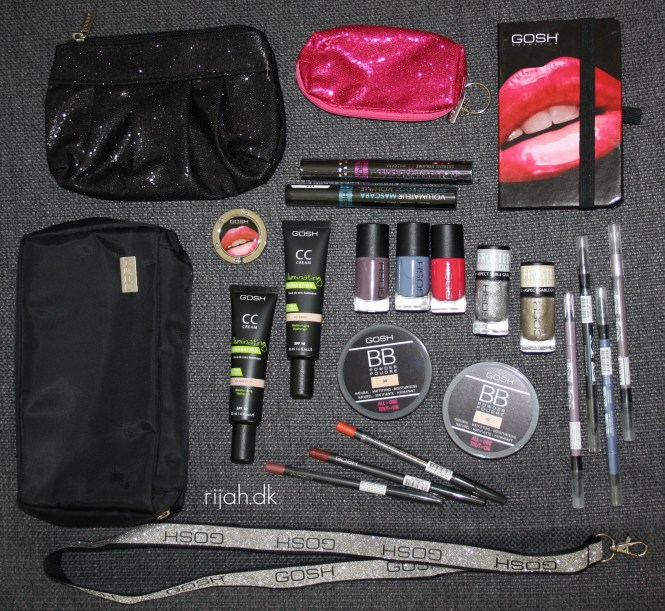 GOSH Goodiebag Giveaway rijaH