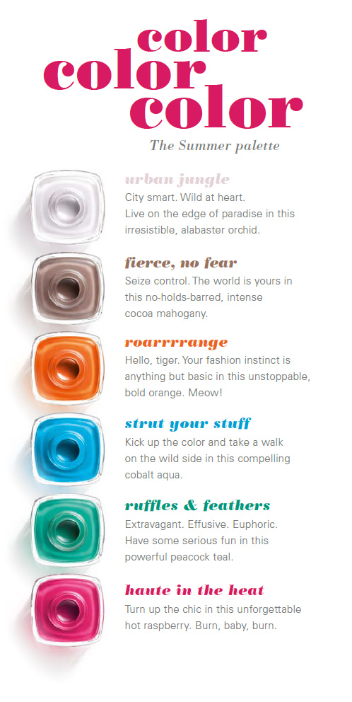 Essie Summer Collection 2014 - preview