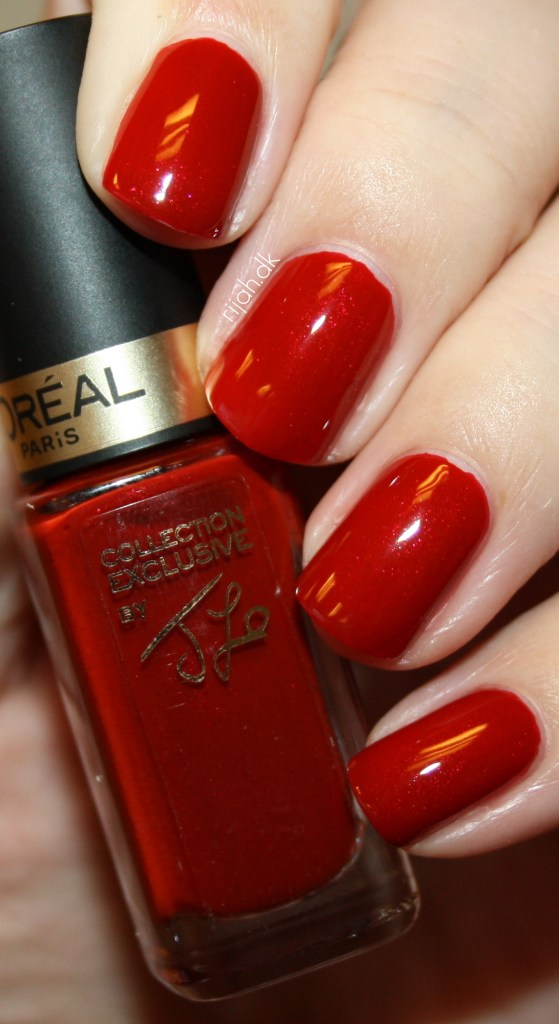 Loreal Color Riche JLos Pure Red Color Riche Collection Exclusive Pure Reds