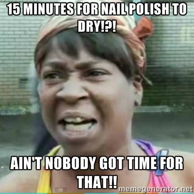 Nail polish memes