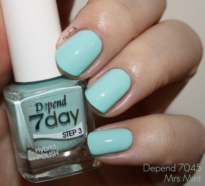 Depend 7day Spring 2015 7045 Mrs Mint