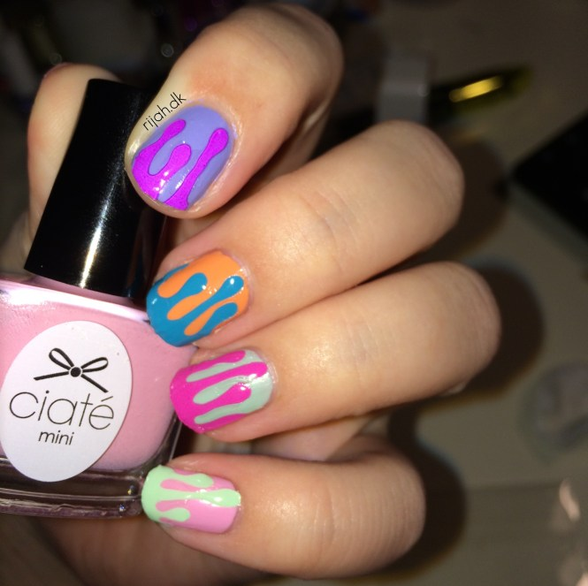 Fancy Friday - Untried Ciate Ice cream nails