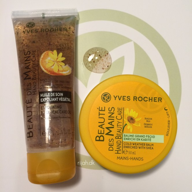 Yves Rocher Exfoliating Botanical Care Oil & Cold weather balm