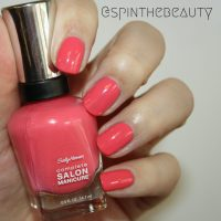 Sally Hansen Complete Salon Manicure Spring 2015 collection