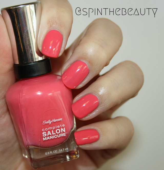Sally Hansen Slice of Sunset Sally Hansen Complete Salon Manicure Spring 2015 collection