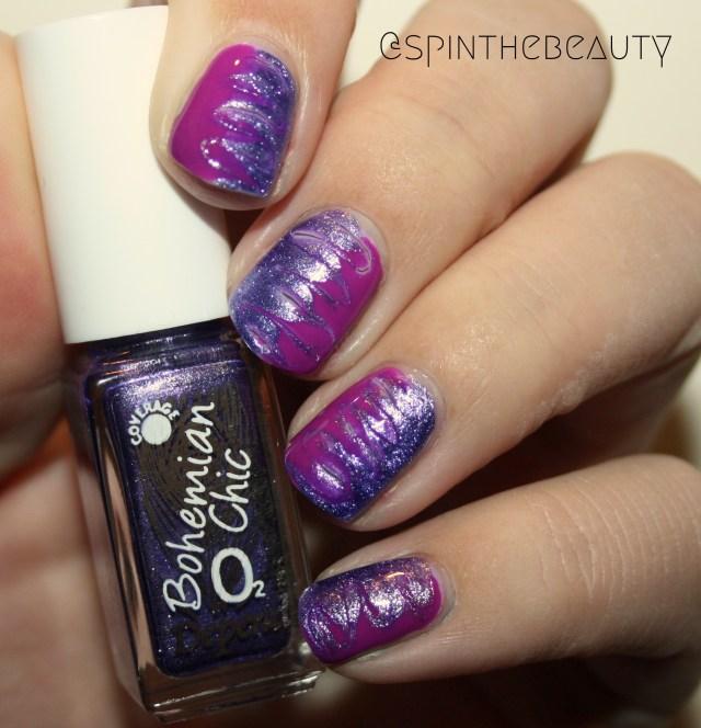 31DC2015 Violet Nails