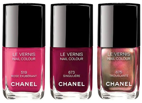 Chanel Winter 2015 nail polish
