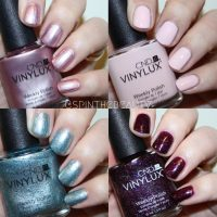 CND Vinylux Aurora Collection Swatches