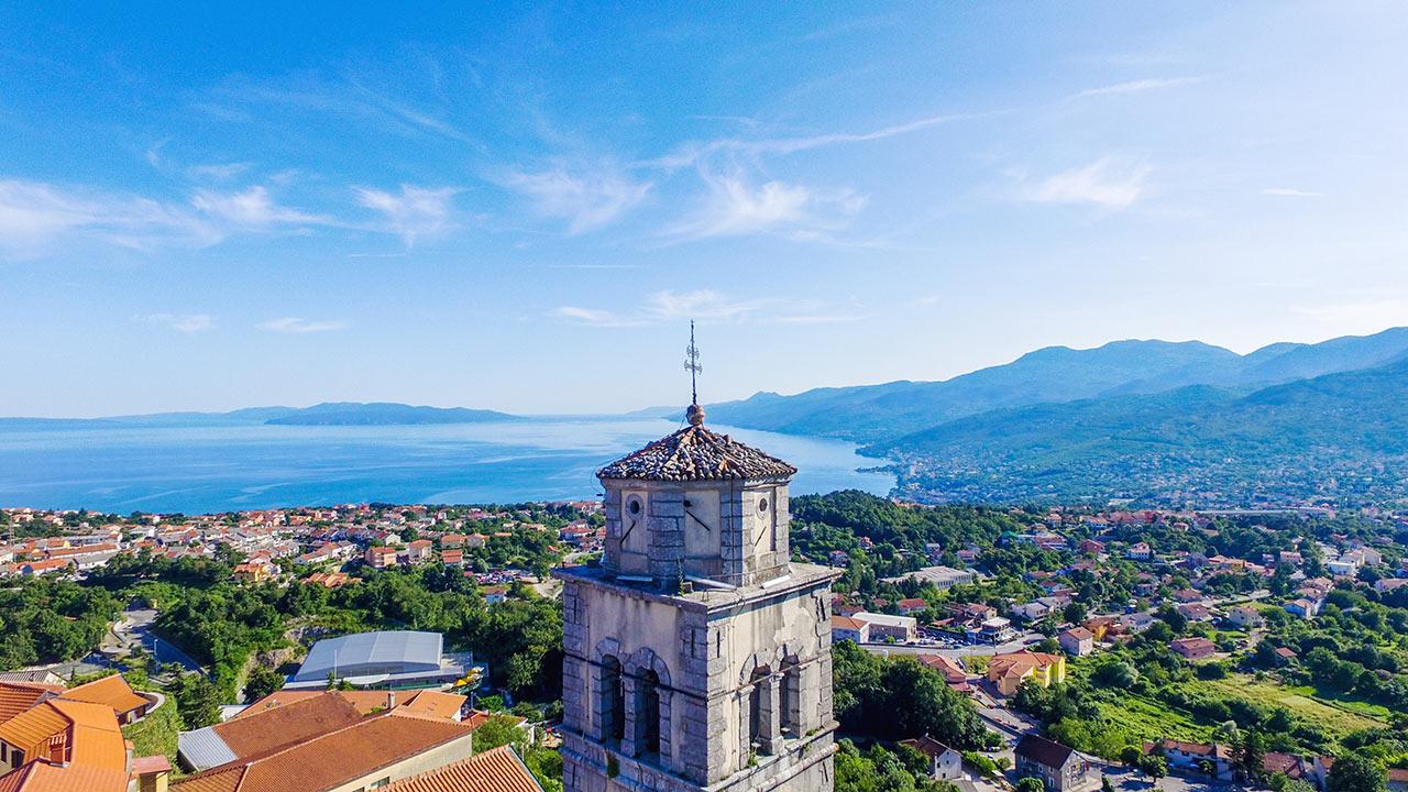 Kastav - Zvonik crkve sv. Jelene