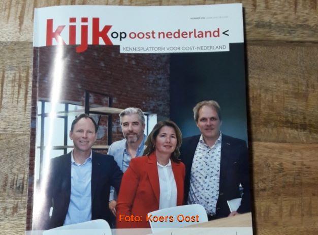 Coverartikel Koers Oost Kijk Op Oost Nederland