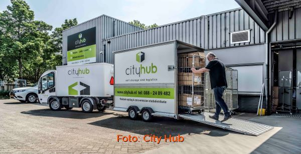 Ontwikkeling city hubs