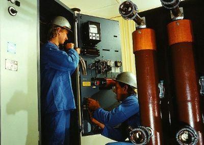 Productie 10 landingspages website VTS Technical Group