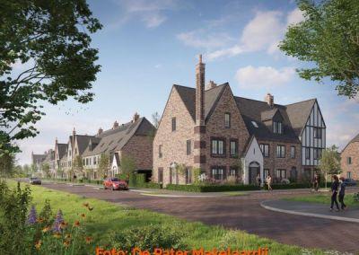Artikel over bouwstijl Cottagepark in Waddinxveen