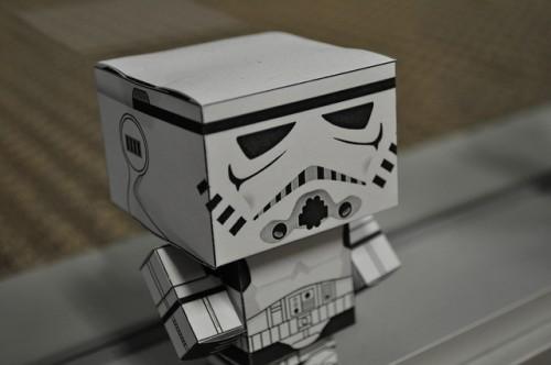 紙のロボット