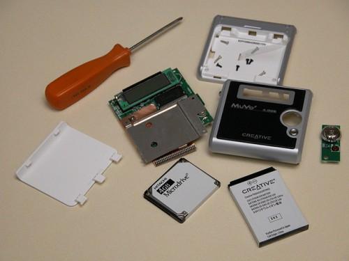 CREATIVE Muvo2 FM 5GBの使用感