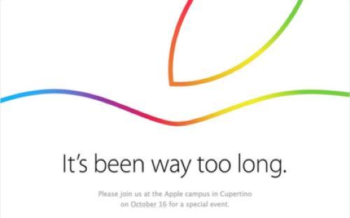 Appleのイベントの招待状