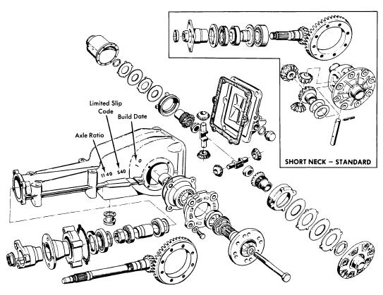 Removal and Installation BMW 1968-74 Drive Axles