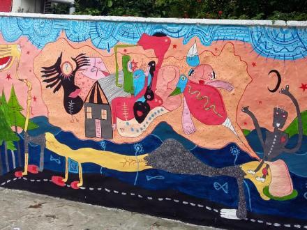 Mural u Mostaru