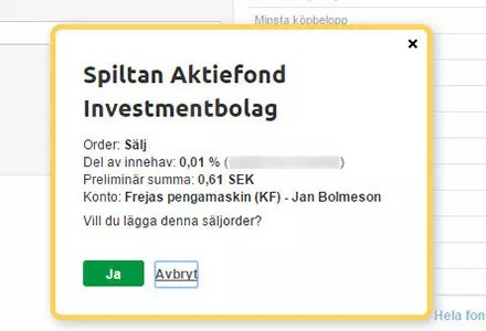 Försättsbild till artikeln: Utdelning i fonder i förhållande till utdelning i aktier - Läsarfråga kring om man måste sälja av fondandelar för att tillgodogöra sig fonders utdelning