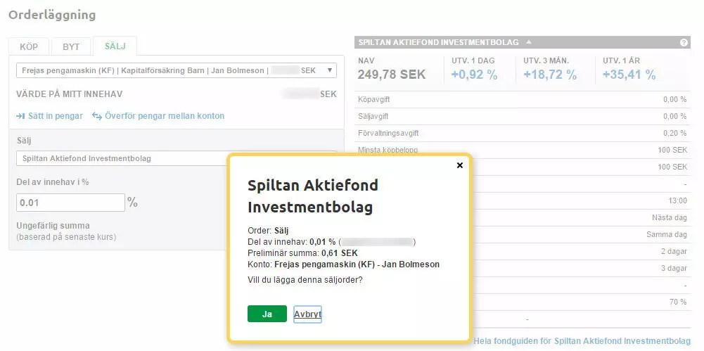 Utdelning i fonder i förhållande till utdelning i aktier 97dfb2a9d7f46