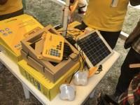 Ett exempel på solpanelen som Trine finansierar via sina partners